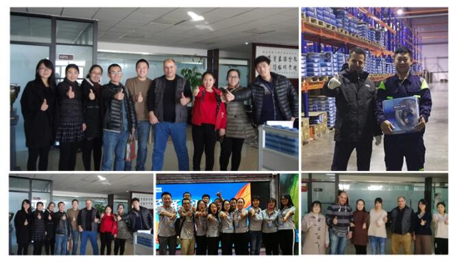 Our customers and team